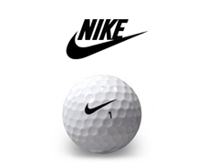 Nike logobollar