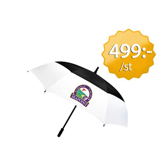 Golfparaply med logo